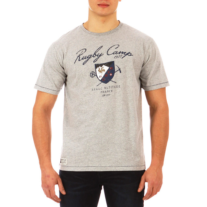 Rugby Camp - Stage Altitude marl grey t-shirt