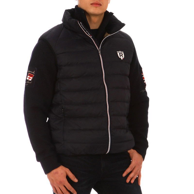 French Rugby Club sleeveless puffa jacket