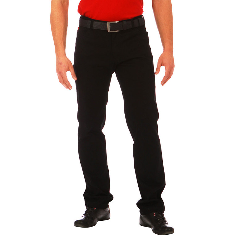 Rugby 5-pocket Black trousers