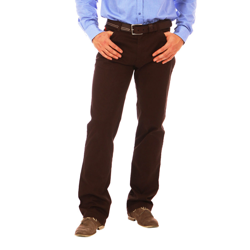 5-pocket brown Ruckfield trousers