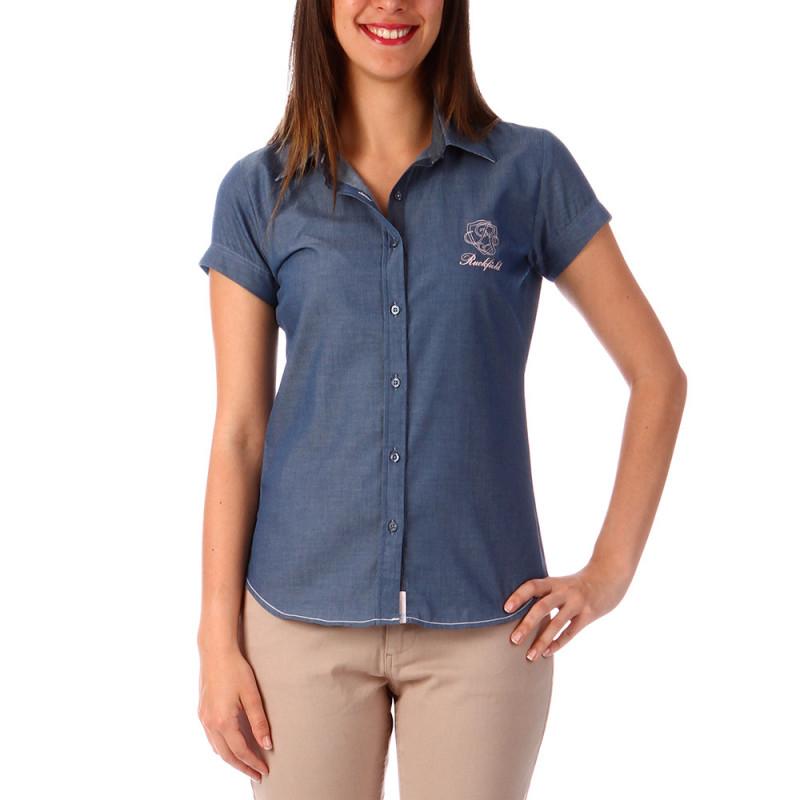 Chambray Shirt Woman