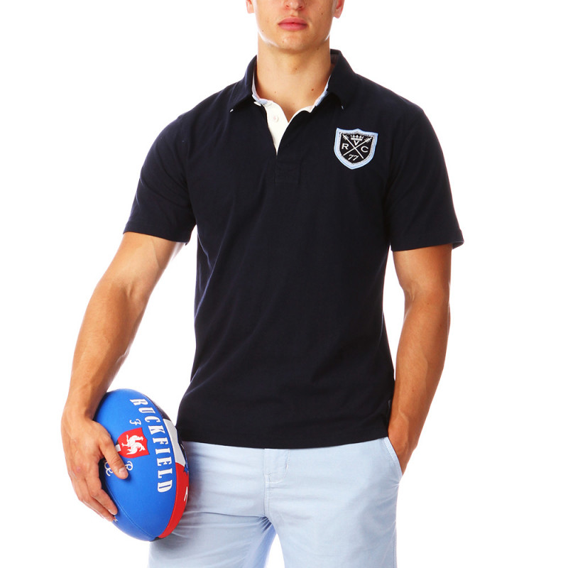 Navy-blue Rugby Polo