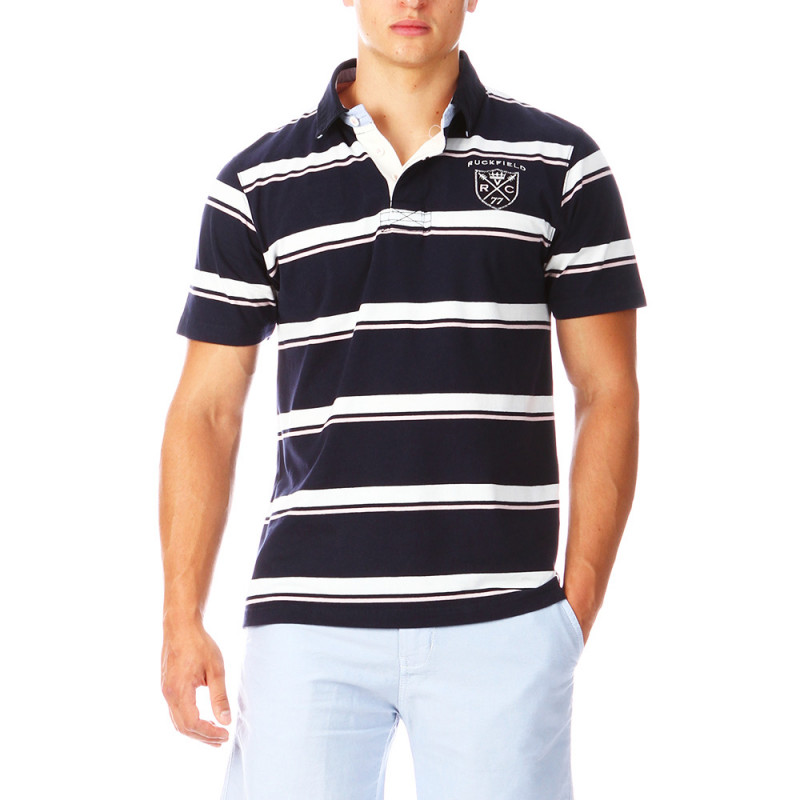 Striped Rugby Chabal Polo