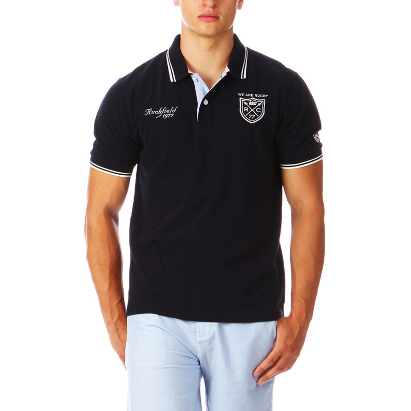 Navy-blue Polo Man