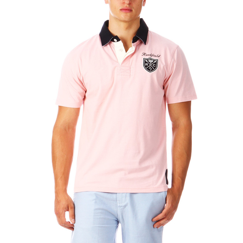 Pink Rugby Polo