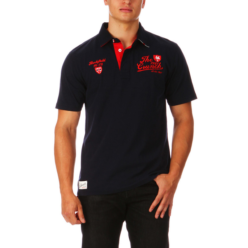 Navy-blue Ruckfield Polo