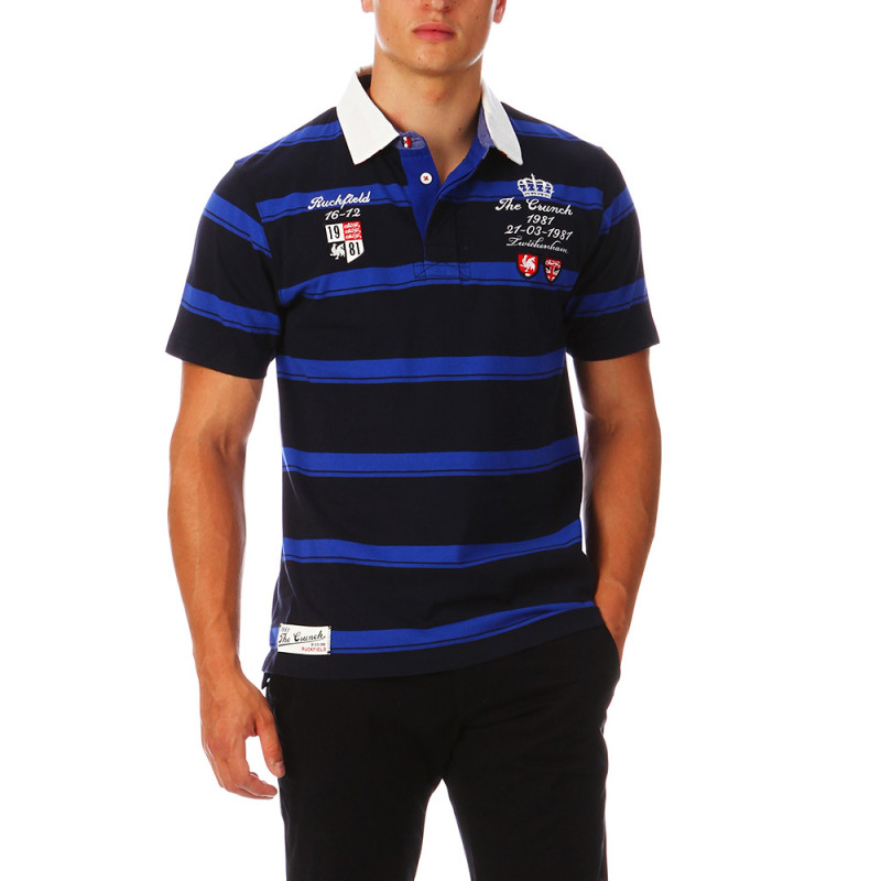 Striped Polo The Crunch