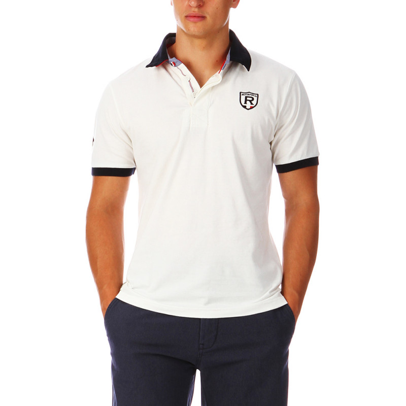 White France Rugby Polo