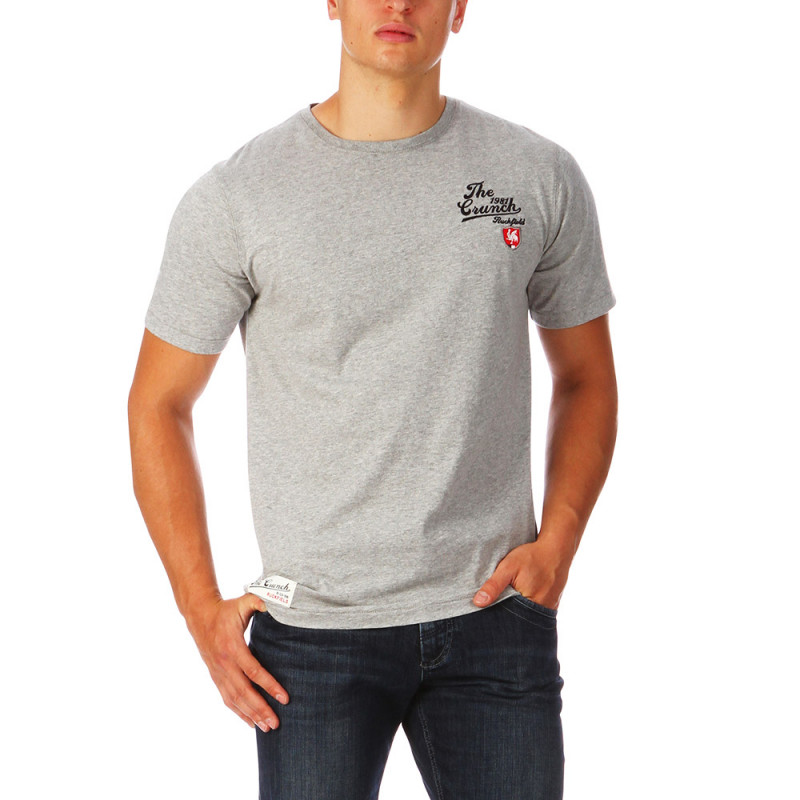 Heather gray Union Jack tee shirt
