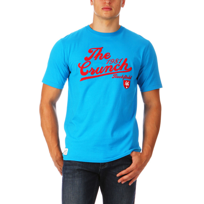 Blue Tee shirt The Crunch