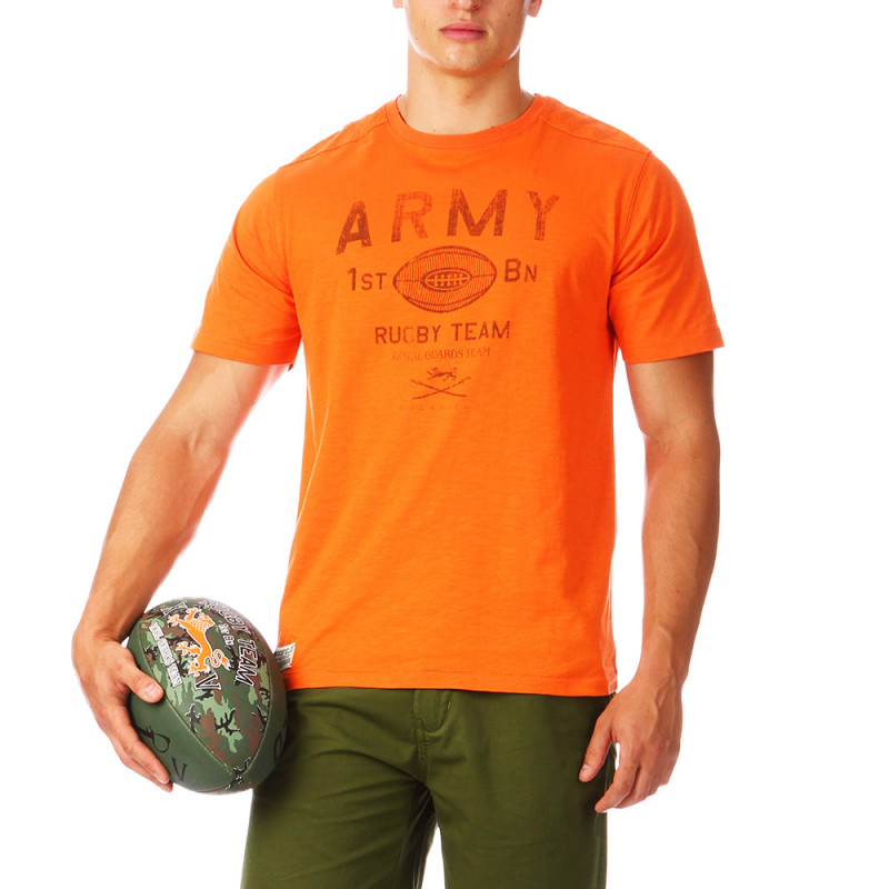 Orange Rugby Camp Tee-shirt
