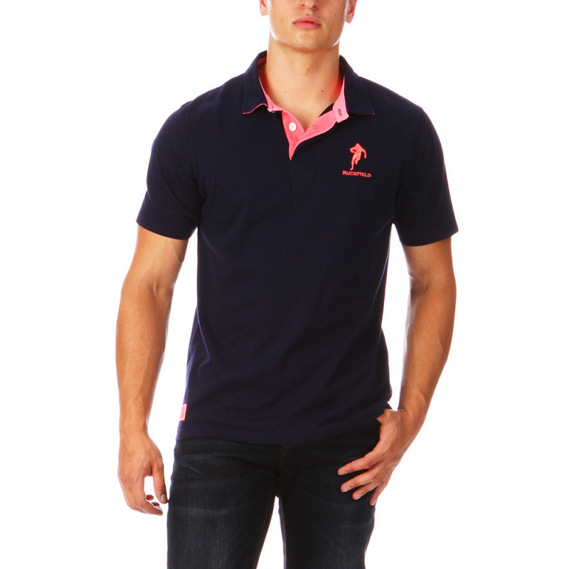 Navy polo Chabal Classic