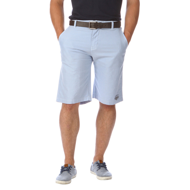 Sky-blue Bermuda shorts Man