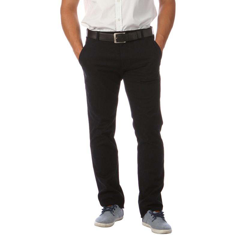 Pantalon chino bleu marine