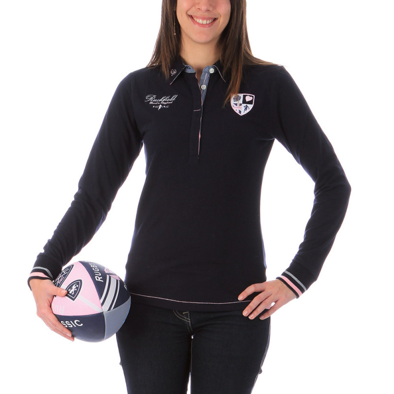 Polo de rugby femme marine