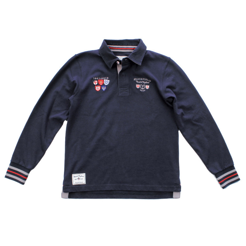 Kids' polo shirt Road to England