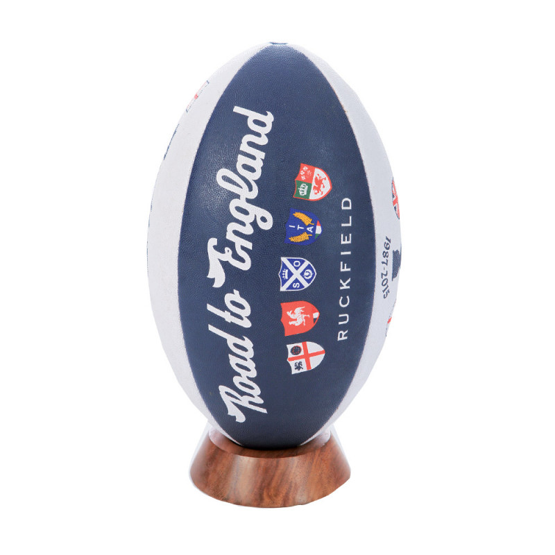 Rugby ball Road to England