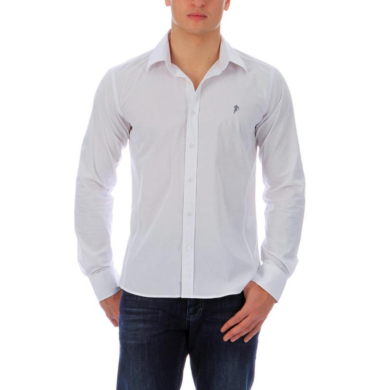 Plain white shirt Chabal