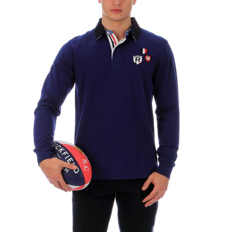 Blue polo shirt Ruckfield France