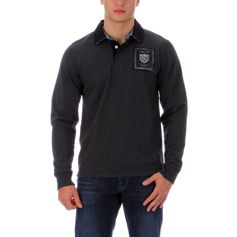 Grey polo shirt We Are Rugby