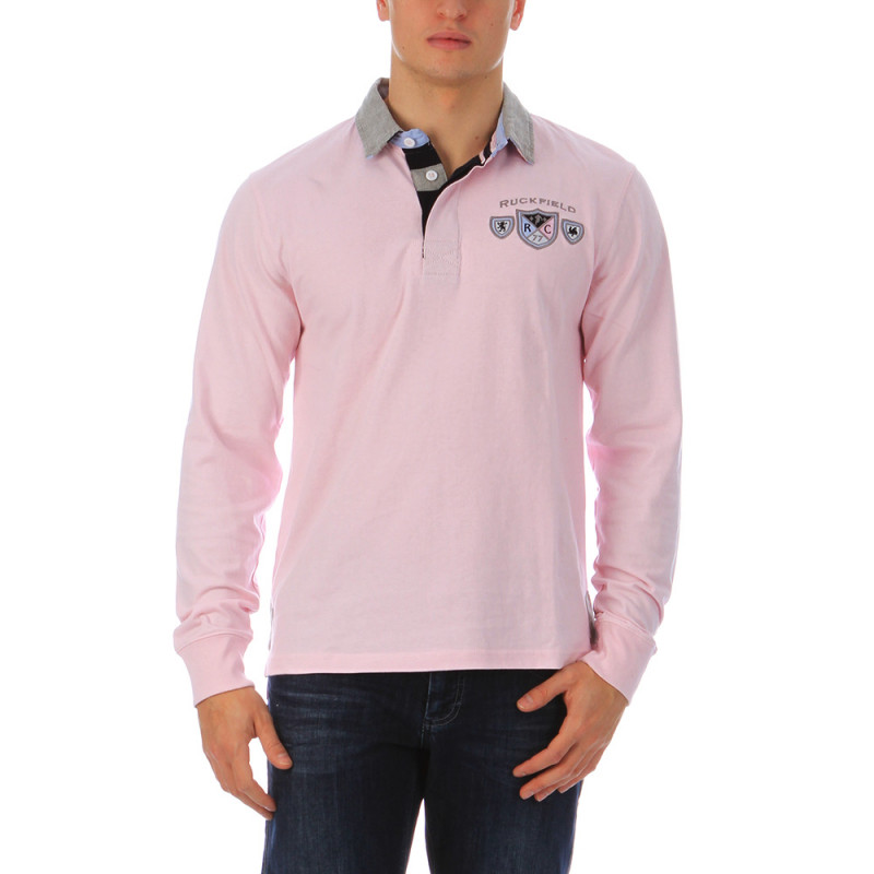 Pink polo shirt We Are Rugby