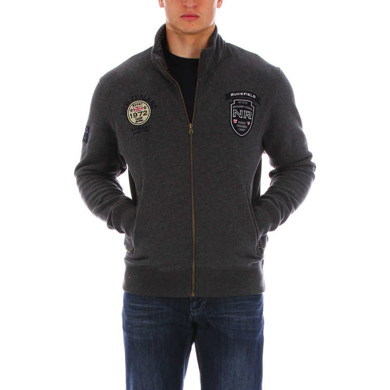 Dark-grey thick sweatshirt Chabal