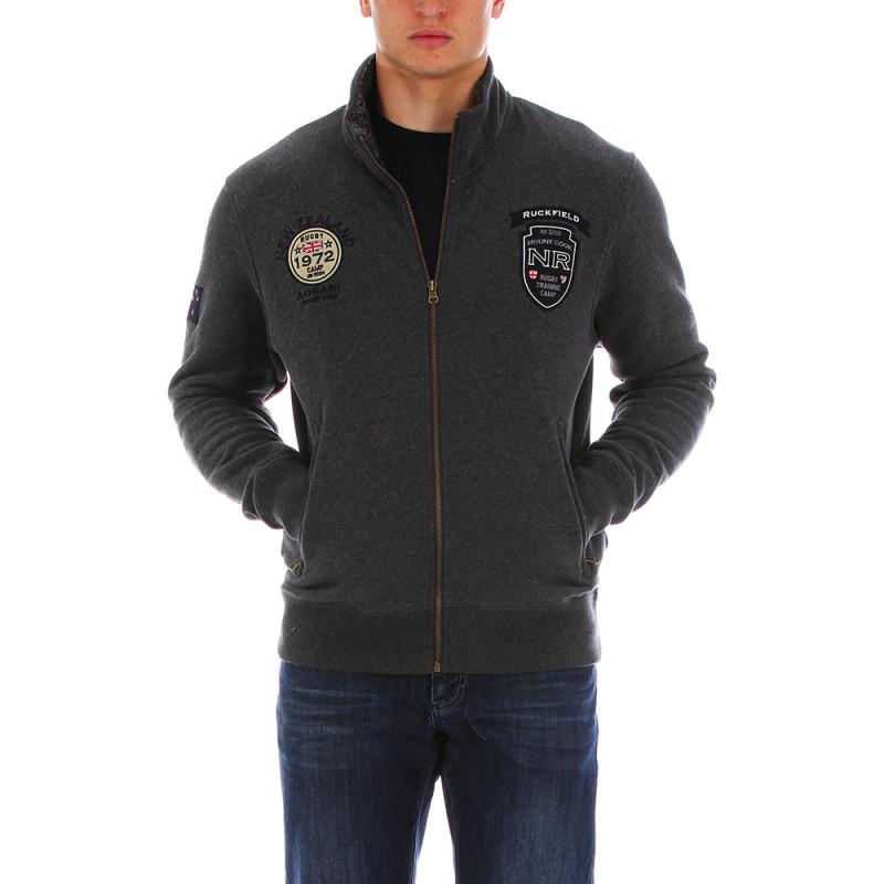 Dark-grey thick sweatshirt Chabal