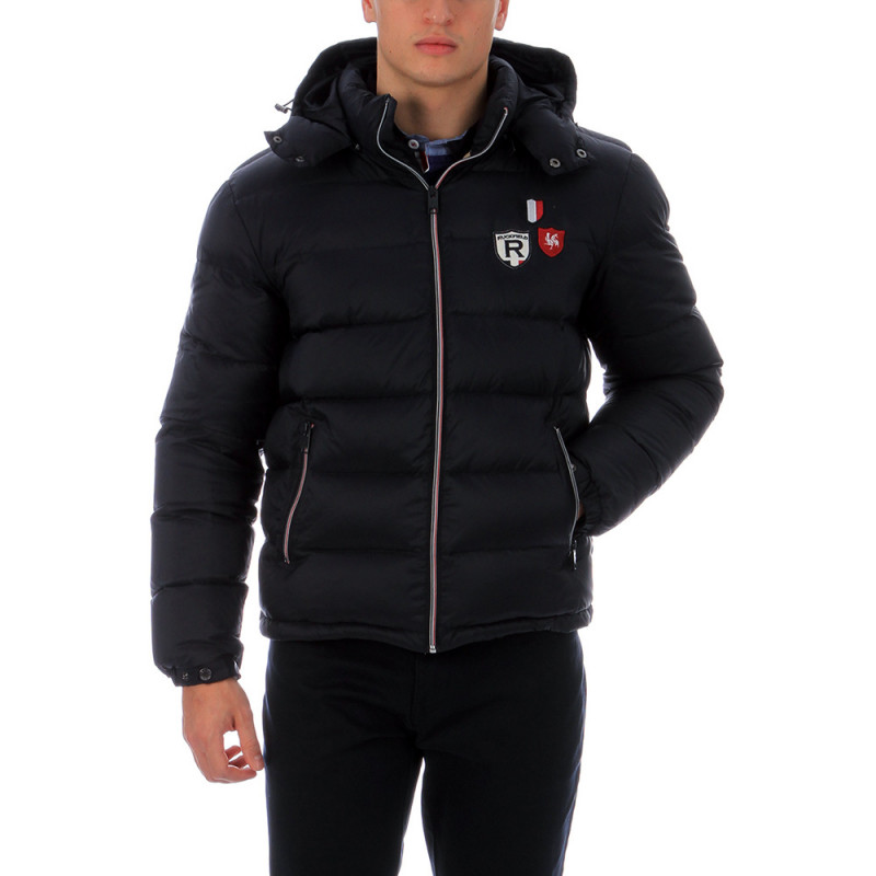 Navy-blue rugby gilet