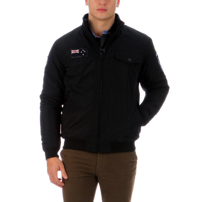 Black rugby jacket
