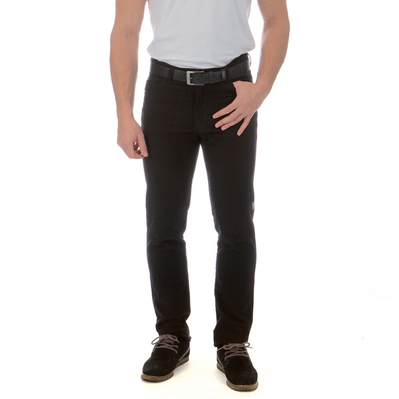 Black trousers with 5 pockets