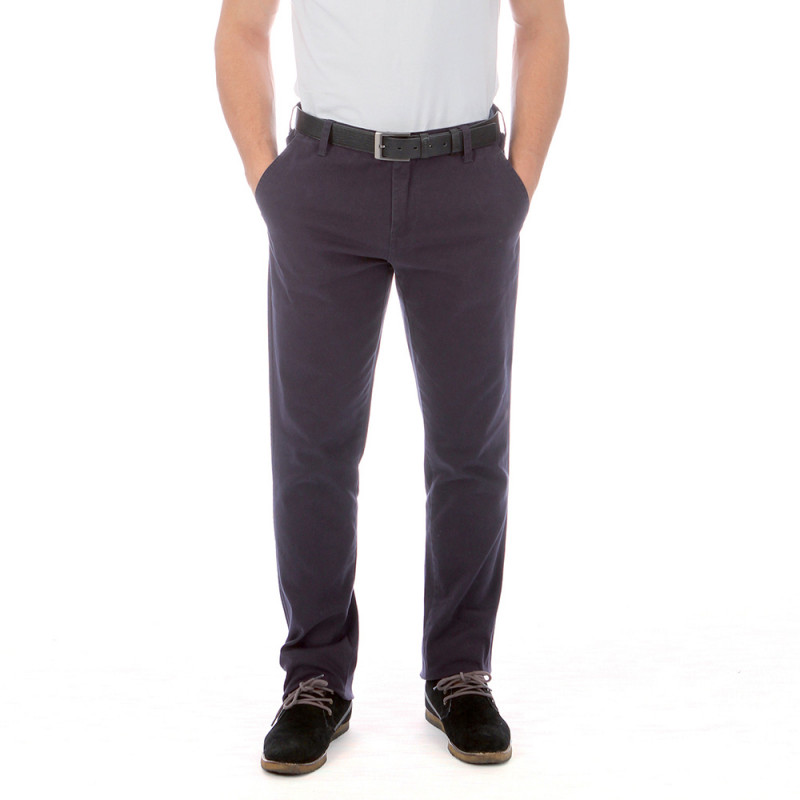 Dark blue chino rugby trousers