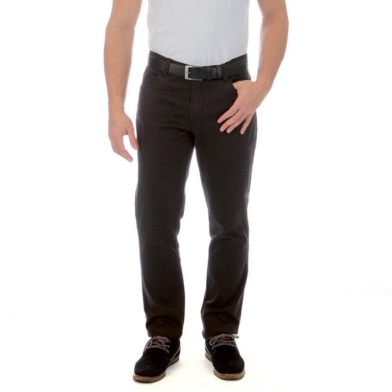 Blue rugby trousers in a cotton blend with elastane.