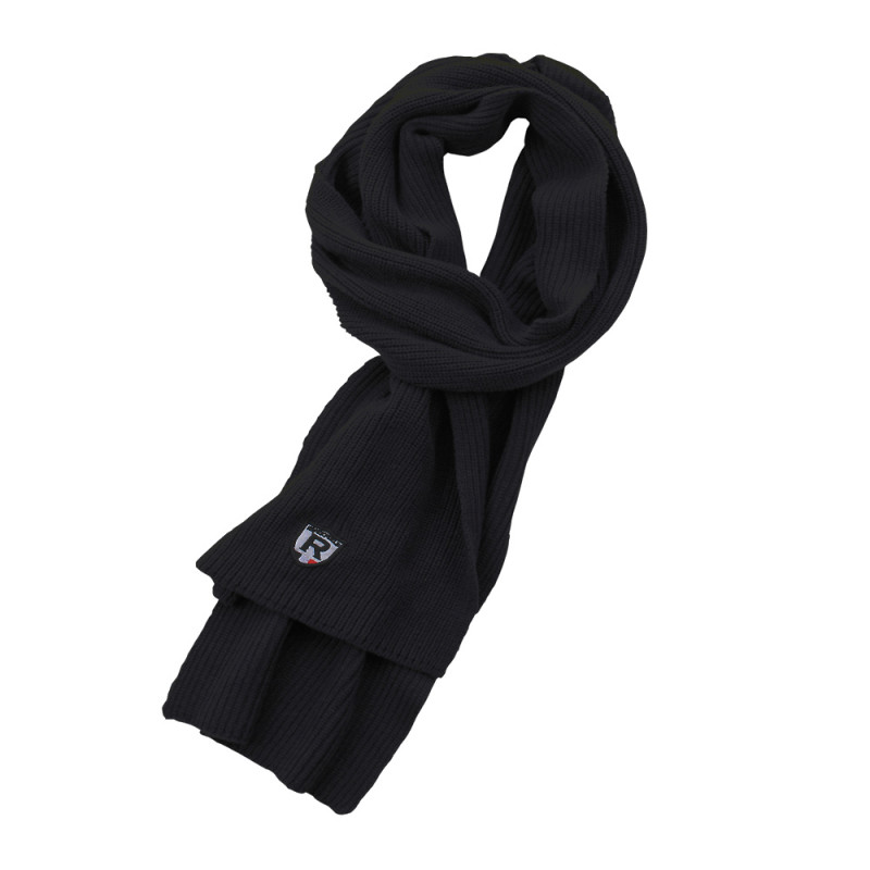 Black Ruckfield rugby scarf