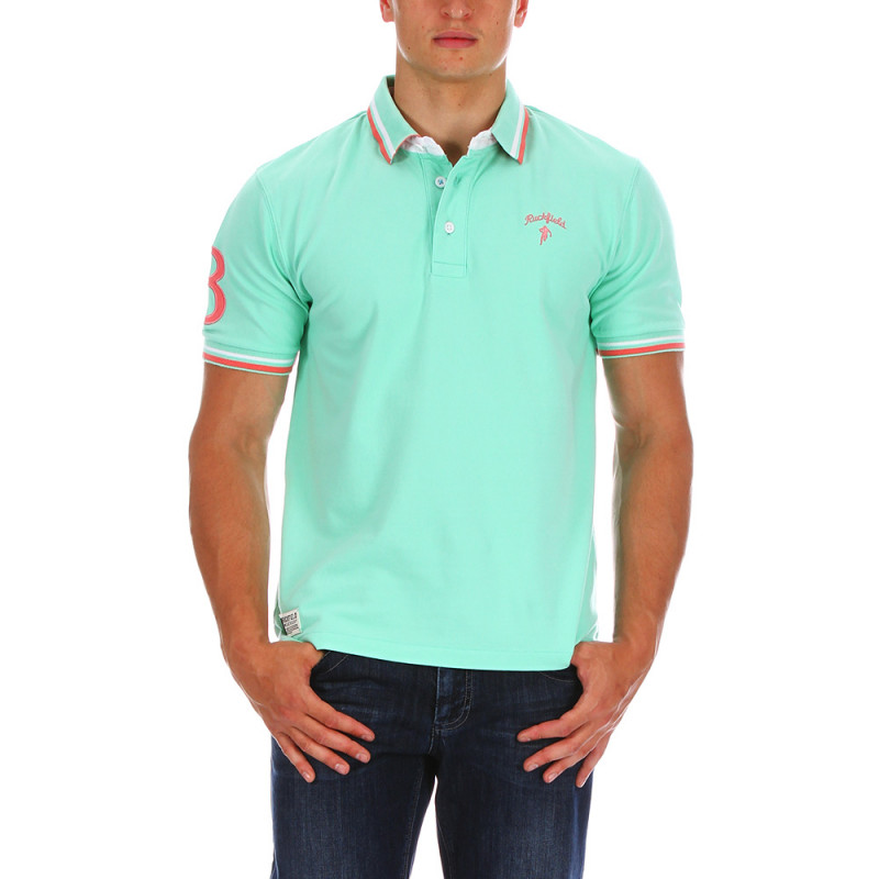 Green Chabal rugby polo shirt