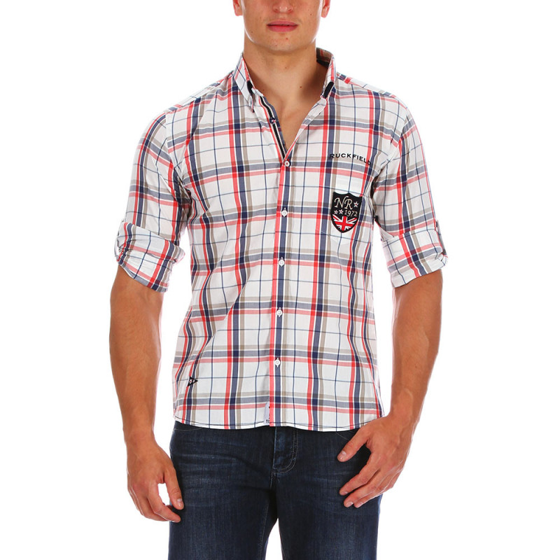 Outdoor checked shirt