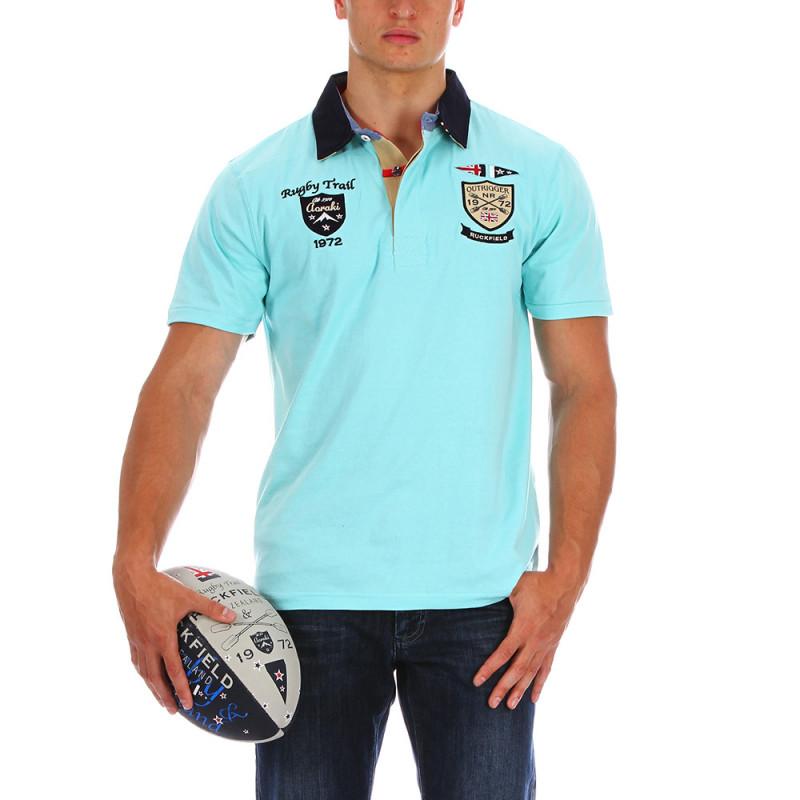 New Zealand green polo shirt
