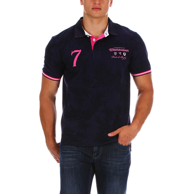 Piqué beach rugby polo shirt