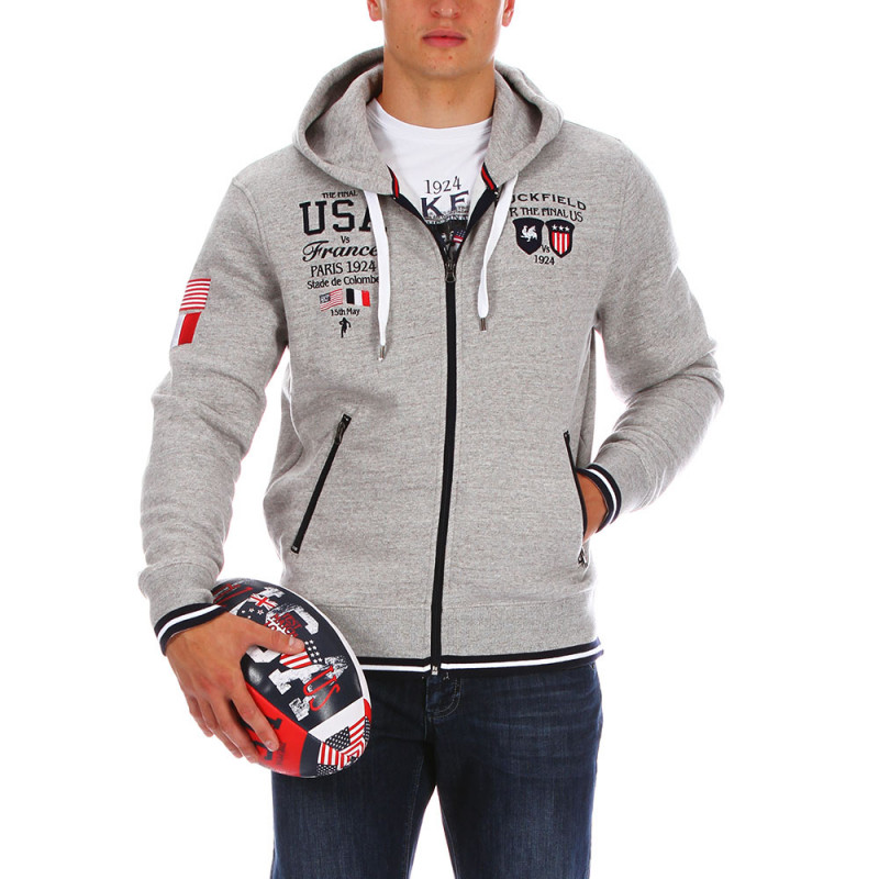 USA rugby hooded sweatshirt