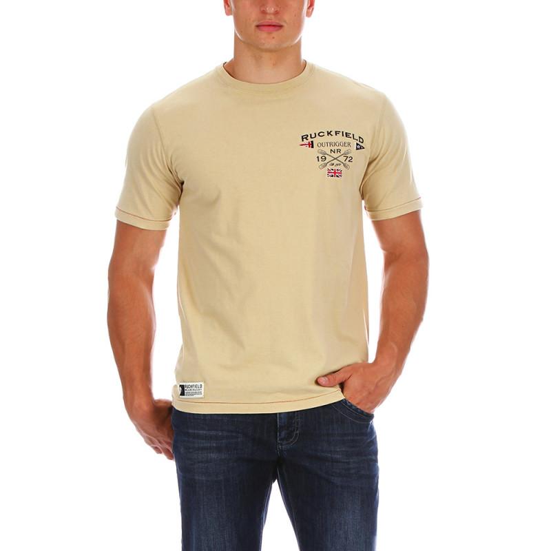 Beige outdoor t-shirt