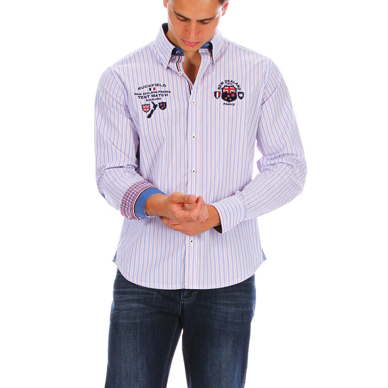 Striped New Zealand shirt