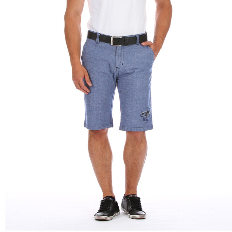 Blue USA shorts