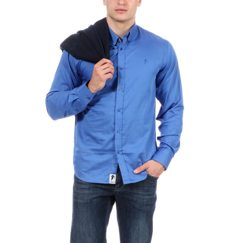 Chemise d'été bleue Ruckfield