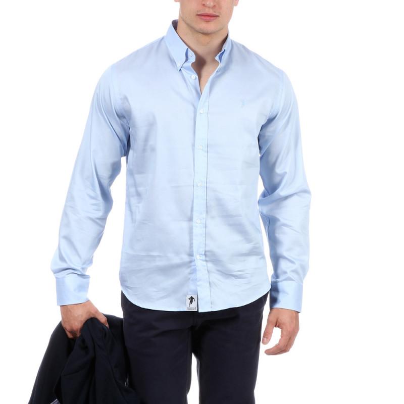 Chemise d'été bleu ciel rugby