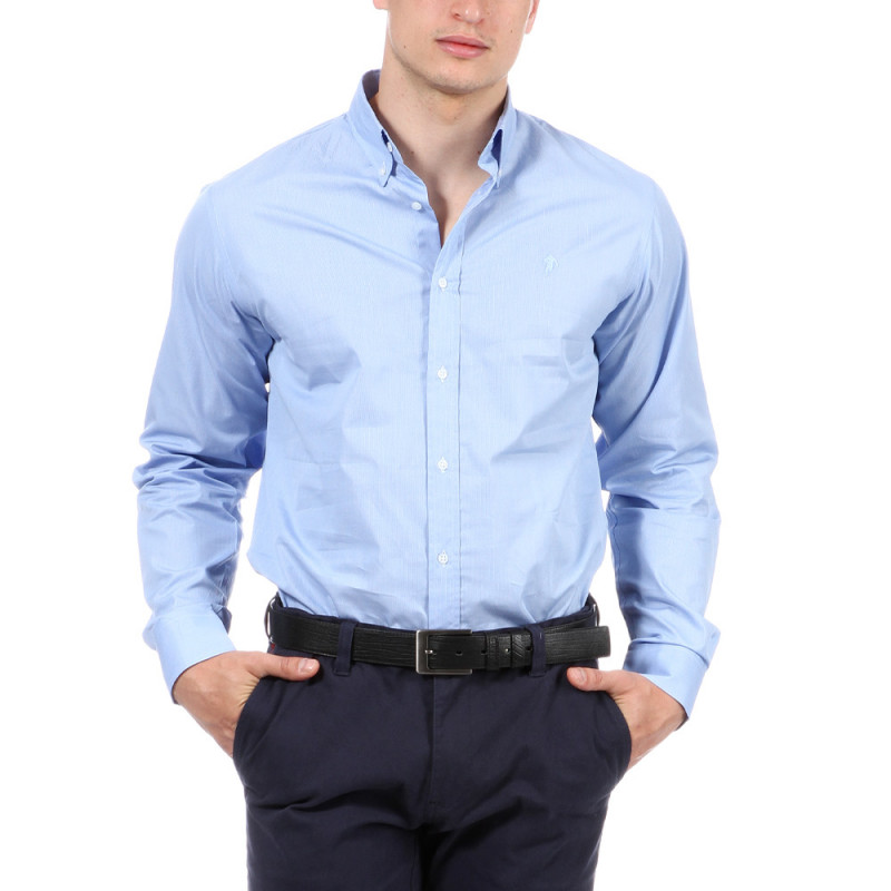 Chemise rugby bleue Ruckfield