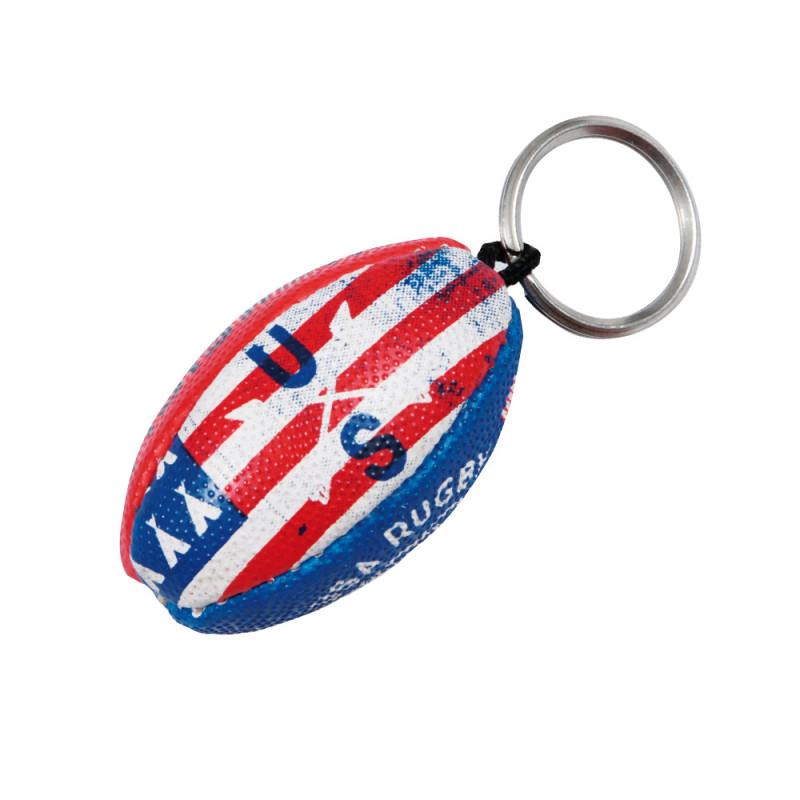 Porte-clés ballon Rugby