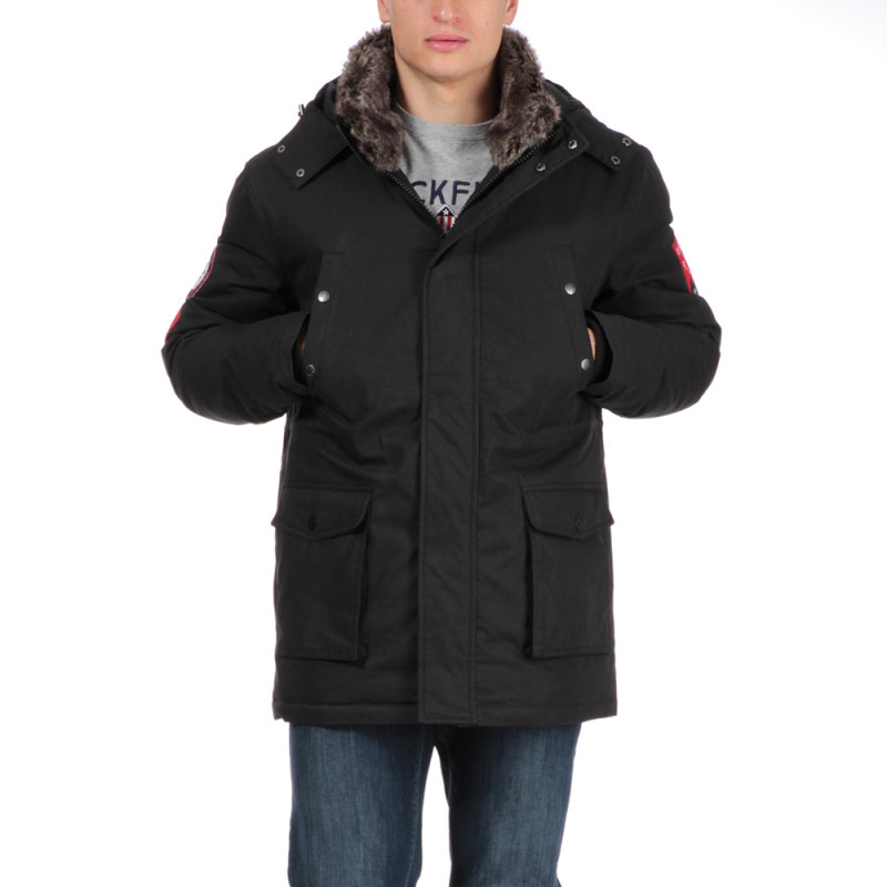 Parka noire outdoor Rugby Camp