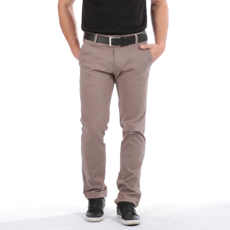 Pantalon chino beige Chabal