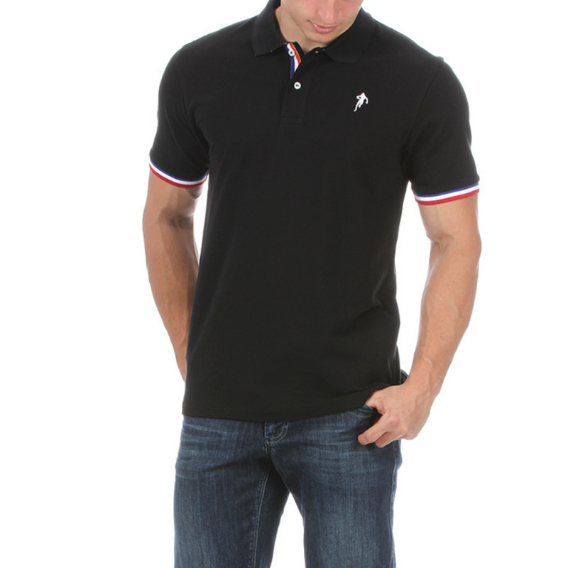 "Black Rugby ""France"" Polo"