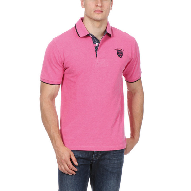 Fuschia Rugby Polo