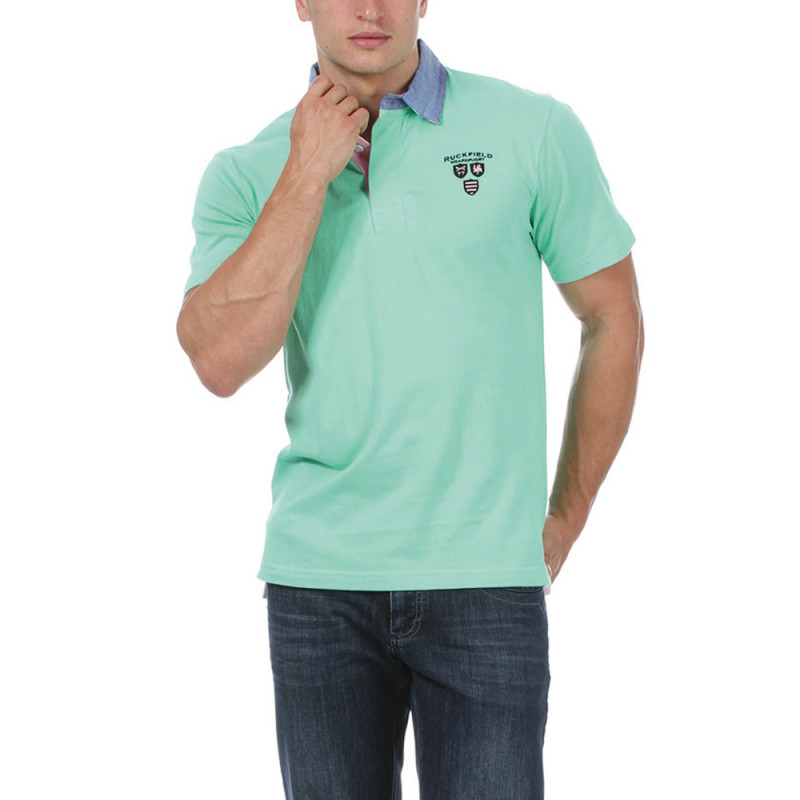 """Green """"We are rugby"""" Polo"""